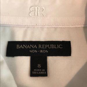 Banana Republic Tops - Banana Republic Button Down Sleeveless Top (8)